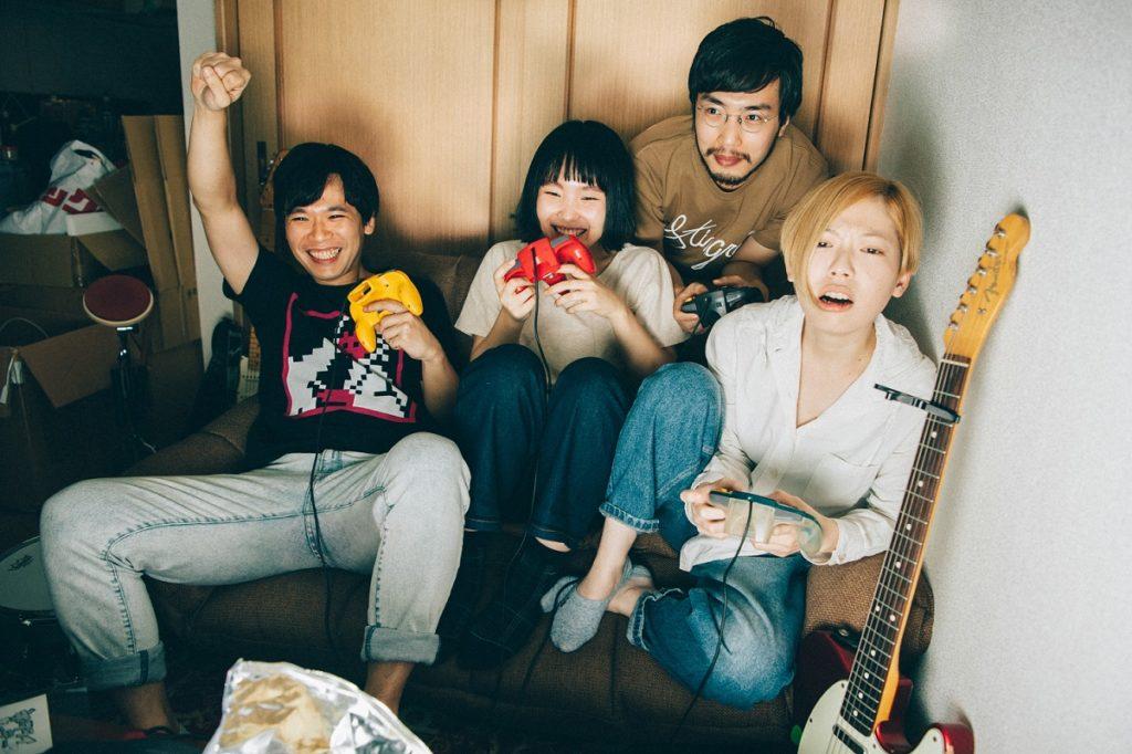 注目の大阪発4人組バンド・ネクライトーキー「めっちゃかわいいうた」MV公開