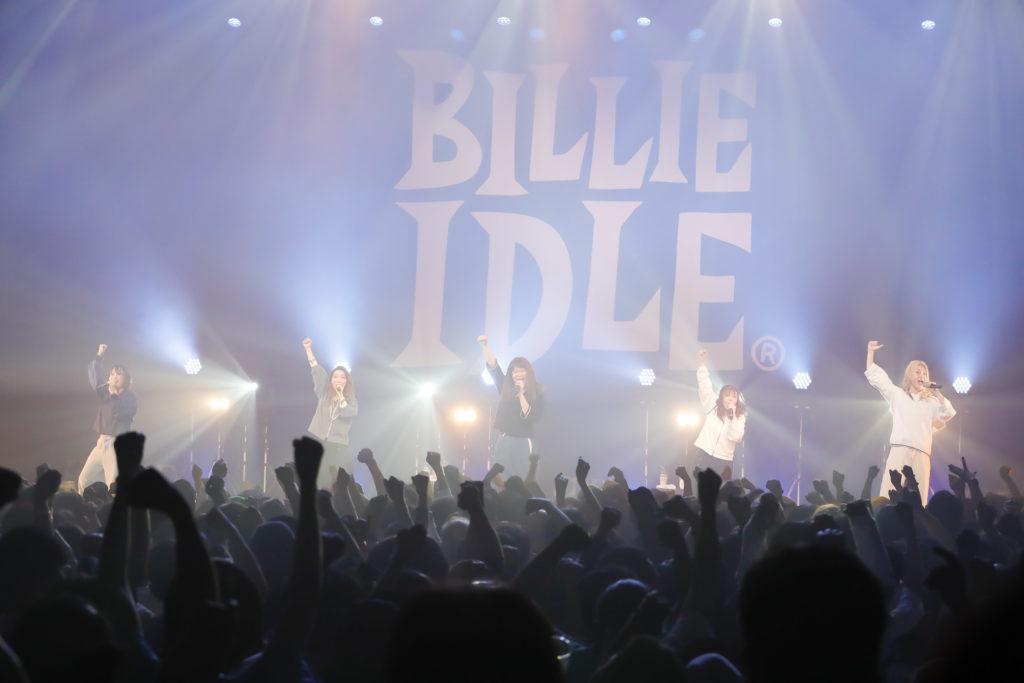 BILLIE IDLE、7月より過去最大全国15都市ツアー開催