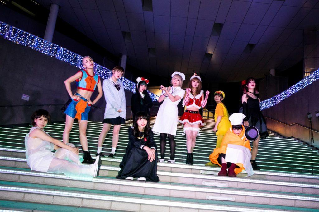 GANG PARADE『ギャンパレ10000000000(テンビリオン)』開催、「ヤママチミキ」が期間限定で改名