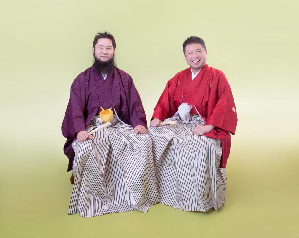 サイプレス上野とロベルト吉野、結成20周年アーティスト写真公開