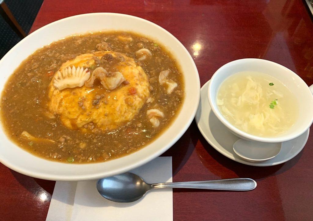 天津飯放浪記第9回「セレブシティに潜む坦々麺屋の天津飯」