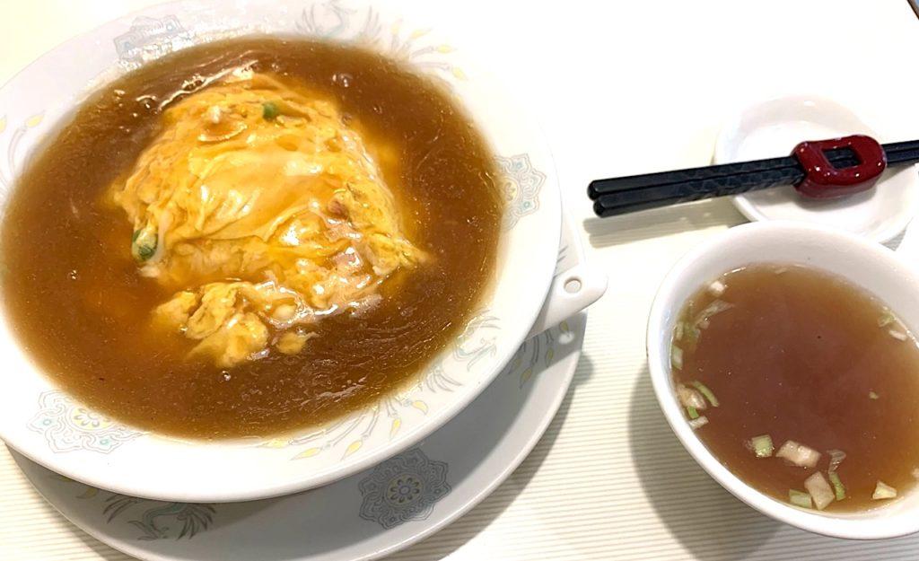 天津飯放浪記第14回「ほんのり香る生姜がヘルシーな天津飯」