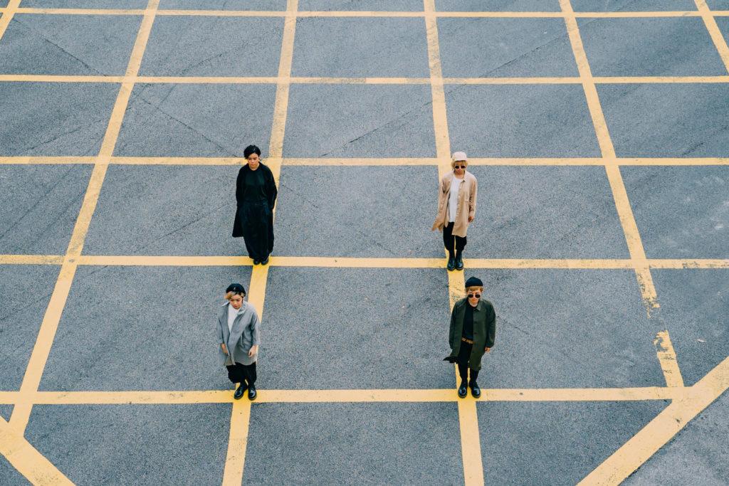 香港女性4人組バンド・GDJYB、新曲リリース&香港よりストリーミングライヴ開催