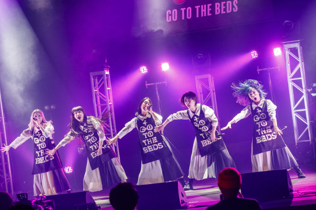 GO TO THE BEDS、初ワンマンで魅せた豊かな表現力「また必ず生きて会いましょう」