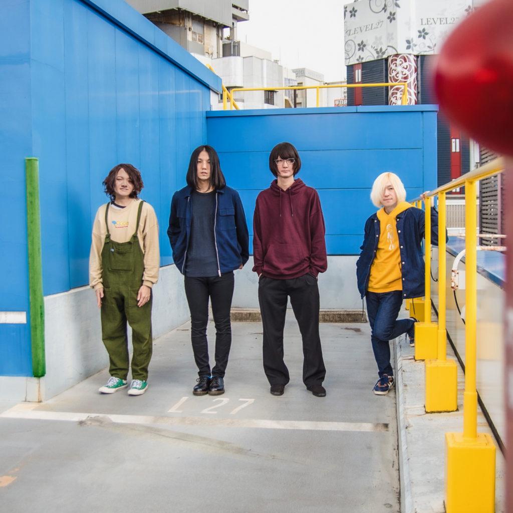 レベル27、デジタルシングル『透明少年』リリース&地元大阪で3マン企画開催