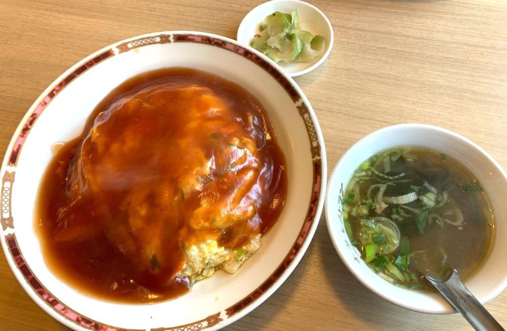天津飯放浪記第50回 氷川台・中華レストラン みつい「ネパール料理が食べられる中華レストランで出会った天津飯」