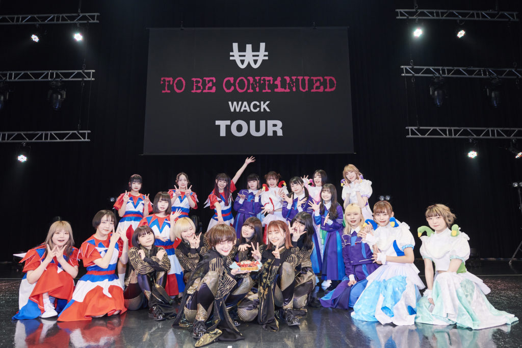 WACKツアー2021東京公演2日目、EMPiRE、豆柴の大群、PARADISES、WAggがZeppTokyoを彩った夜