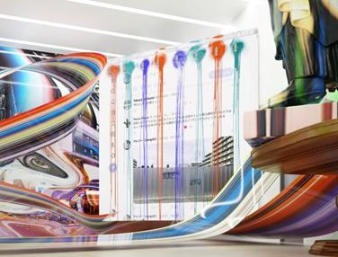 渋谷・宇田川で新アートプロジェクト始動、リアルとバーチャルをつなぐアートギャラリーオープン