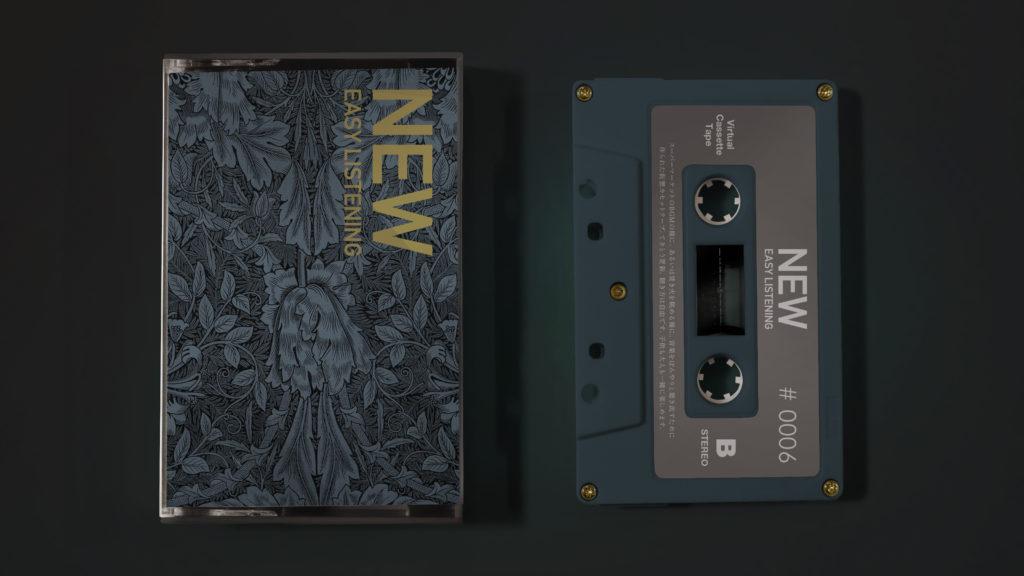 音楽をぼんやりと聞き流すために作られたカセットテープがコンセプトのYouTubeチャンネル、仮想カセットテープ第6弾配信