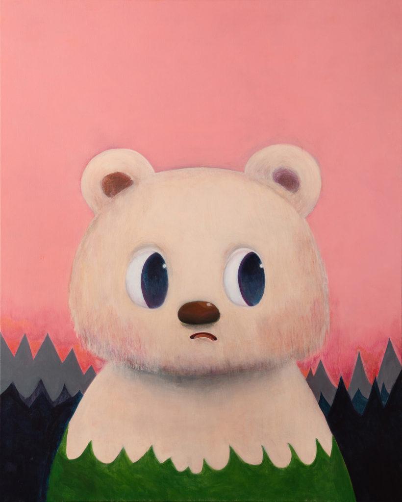 牧田純、動物達を描いた個展〈KIDS SEE DREAMS AND FORGET〉開催